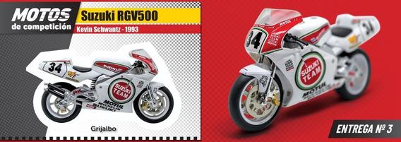 Coleccion Motos Competicion N° 3 Suzuki Rgv500 Kevin Schwant