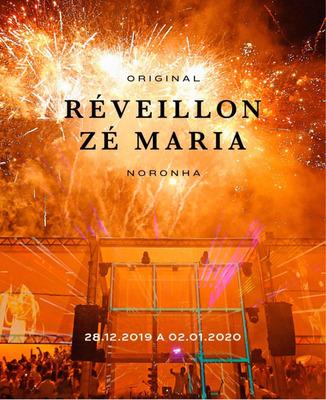 Reveillon Zé Maria Em Noronha , Ingresso Preço Do Lote 1