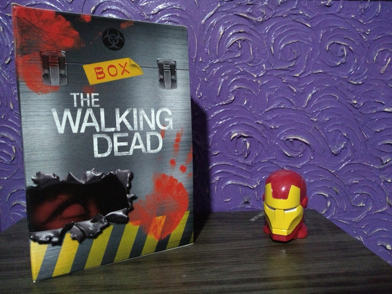 Box De Livros - The Walking Dead