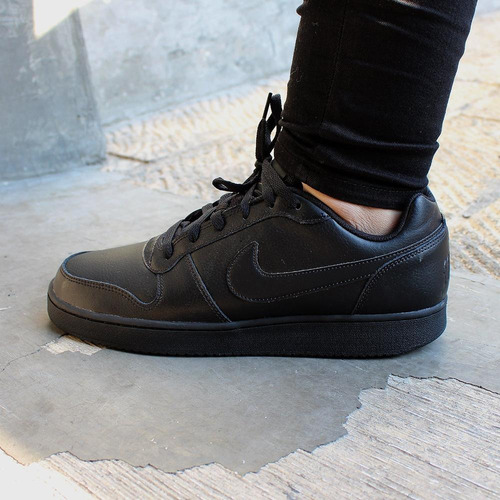 Lidiar con síndrome perrito  Tenis Nike Ebernon Low - Aq1775003 - Negro - Hombre   Mercado Libre