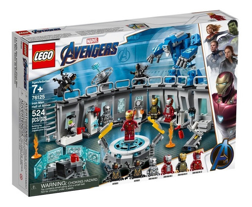 Lego Iron Man: Salon De Armaduras Set De Construcción