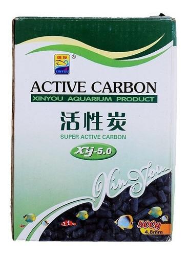 Imagen 1 de 10 de Material Filtrante Carbon Activado Acuario Resun C-500 Gr