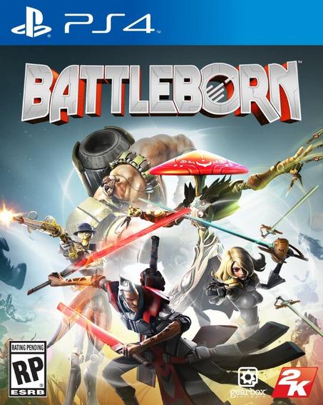 Game Ps4 Battleborn - Original - Novo - Lacrado