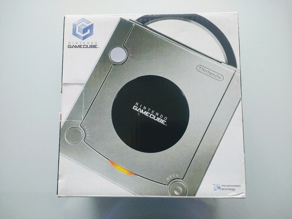 Gamecube Platinum Console Novo