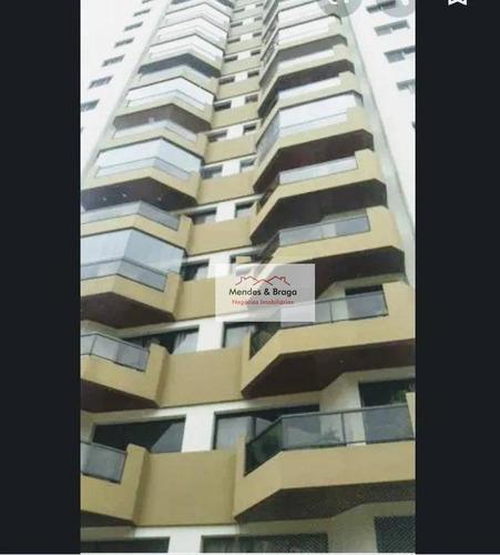 Imagem 1 de 14 de Apartamento À Venda, 130 M² Por R$ 660.000,00 - Vila Galvão - Guarulhos/sp - Ap2458