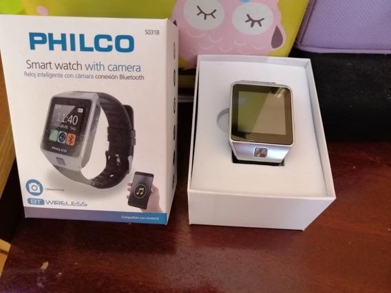 Smart Watch Reloj Inteligente Con Cámara Conexión Bluetooth