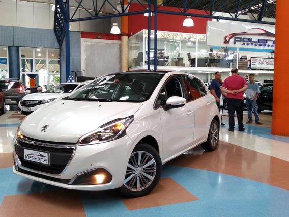 Peugeot 208 Griffe 1.6 Flex Automático 2017 Top De Linha!