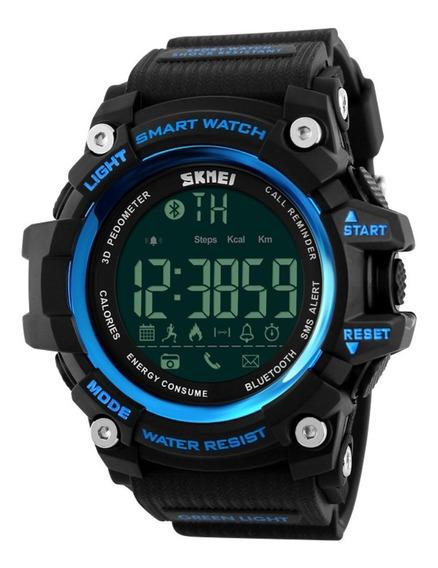 Relógio Smart Watch Masculino Skmei 1227 Bluetooth