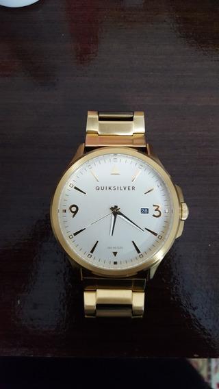 Relógio Quiksilver Beluka Metal Dourado