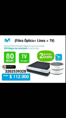 Internet Fibra Óptica- Movistar
