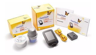 Kit 1 Sensor Freestyle Libre + 1 Leitor + Brinde