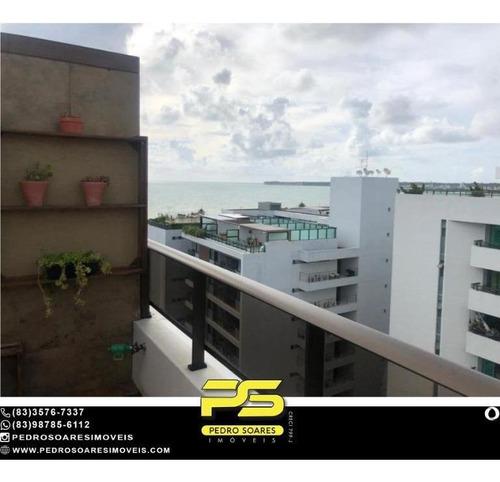 Imagem 1 de 15 de Cobertura Com 2 Dormitórios À Venda, 100 M² Por R$ 1.200.000,00 - Tambaú - João Pessoa/pb - Co0116