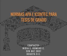 Tesis De Grado. Edición Y Corrección