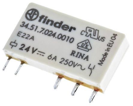 Rele Finder 3451.7.005.0010 5vcc/emb.20 Peças