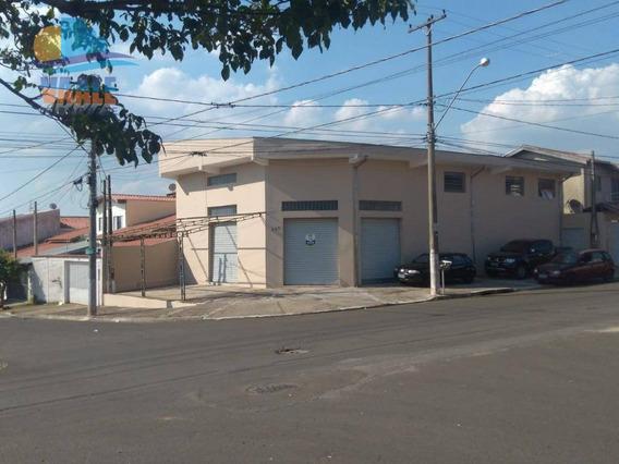Salão À Venda, 175 M² Por R$ 550.000 - Jardim Terras De Santo Antônio - Hortolândia/sp - Sl0044