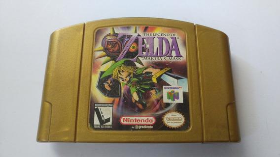 Zelda Majoras Mask Americano Original!! Foto Real Do Jogo!!