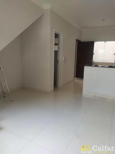 Imagem 1 de 16 de Casa De Condomínio Com 2 Dorms, Guilhermina, Praia Grande - A1600