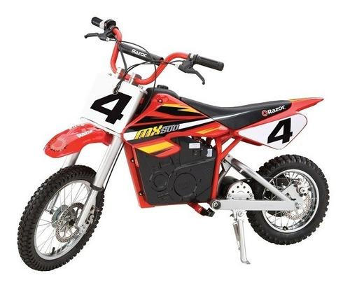 Imagen 1 de 2 de Razor Mx500 Red Dirt Rocket High-torque Electric Motorcycle