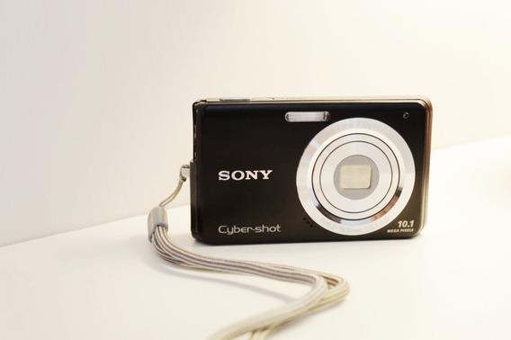 Sony Dsc-w180 Câmera Digital - Zoom Ótico 3x (kit Completo)