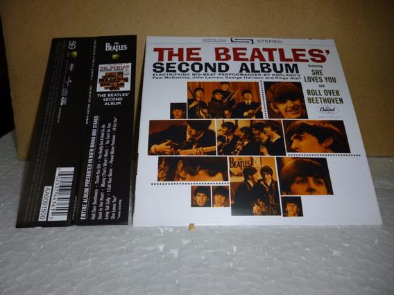 Cd Beatles - Second Album 2014 - Tipo Minivinil Nacional
