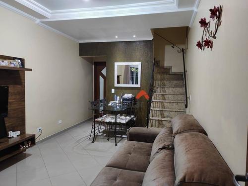 Sobrado Com 2 Dormitórios À Venda, 67 M² Por R$ 420.000,00 - Parque Assunção - Taboão Da Serra/sp - So0271
