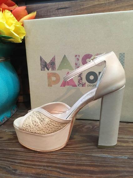 Zapatos De Fiesta Maison Palou Color Arena