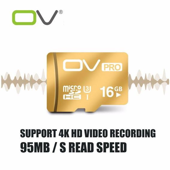Cartão De Memória Sd 16gb Ov Videos 4k Frete Fixo