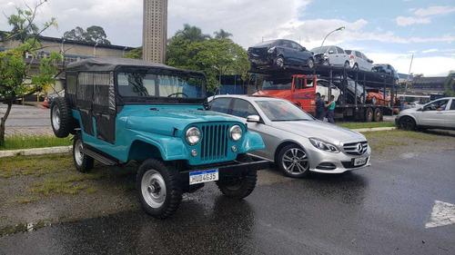 Imagem 1 de 9 de Jeep V6 Bernardão 64 Jeep 1964 -4 Portas