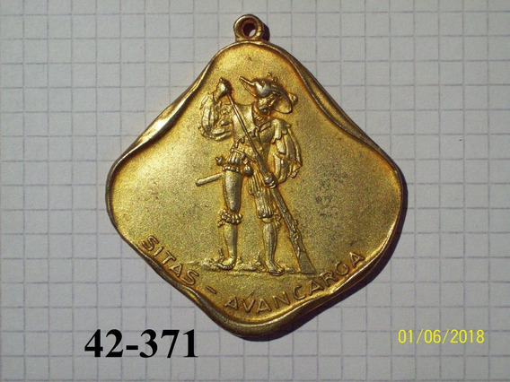 Medalla Tiro Avancarga 75 Gr 60mm
