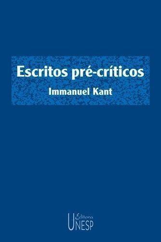 Livro Escritos Pré-críticos Immanuel Kant