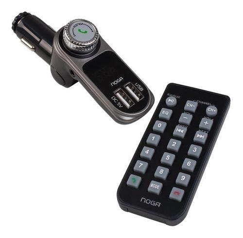 Transmisor Fm Para Auto Reproductor Usb Sd Pendrive Mp3 Noga