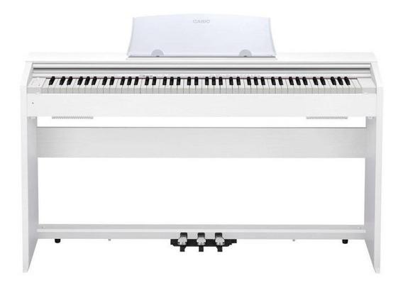 Piano Digital Casio Privia Px-770 Bn Branco 88 Teclas Bivolt