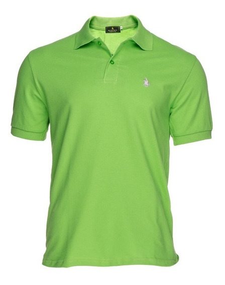 Playera Tipo Polo - Polo Club