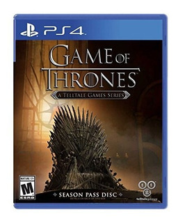 Game Of Thrones A Telltale Games Series Playstation 4
