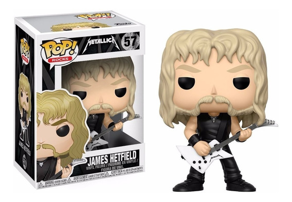 James Hetfield Funko Pop Metallica Rock Trash Metal
