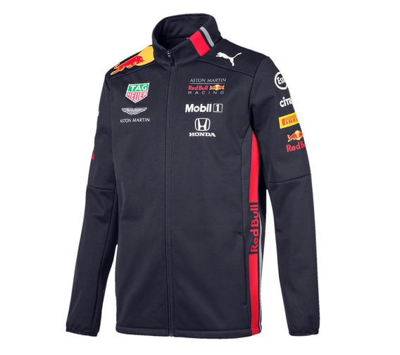 Nova Jaqueta Softshell Aston Martin Red Bull Racing F1 2019