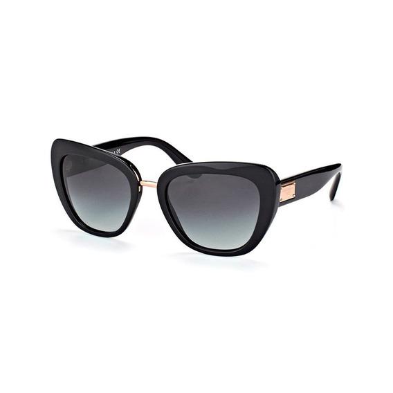 Dolce & Gabbana Dg4296 501/8g 53 - Preto/cinza Gradiente