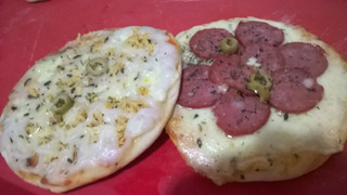 Mini Pizzas Congeladas - 15cm (kit C/ 60)