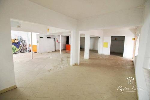 Salão Para Alugar, 257 M² Por R$ 4.000,00/mês - Vila Campesina - Osasco/sp - Sl0149