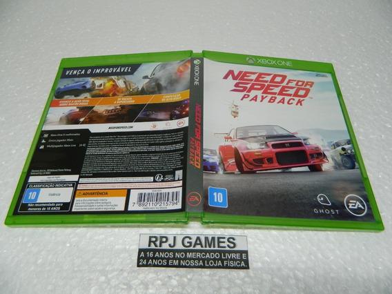 Need For Speed Payback Original Midia Fisica Caixa Xbox One