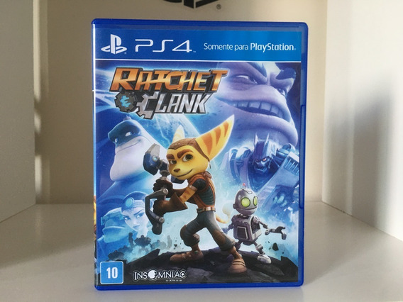 Ratchet E Clank - Ps4 - Mídia Física