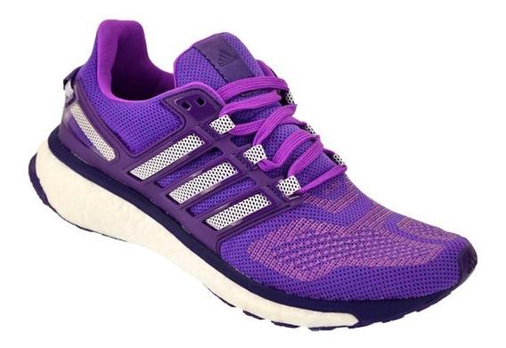 Zapatilla Mujer Running adidas Boost Energy 3 Violeta