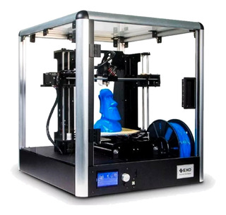 Impresora 3d Exo Fab10 1x Extrusor Armada Y Calibrada