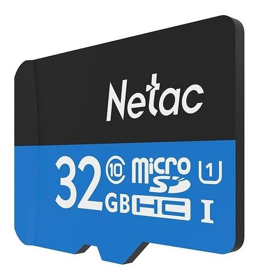 Netac P500 Cartão Micro Sd 32gb - Classe 10 + Brinde