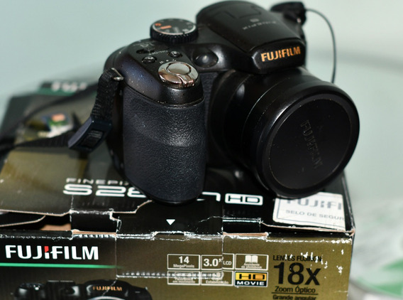 Câmera Fujifilm Finepix S2800hd - Superzoom - Na Caixa