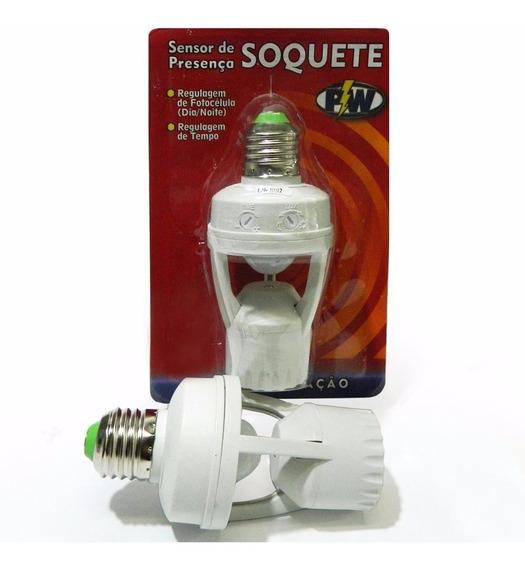 Foto Celula Sensor De Presença C/ Soquete E27 - Pw