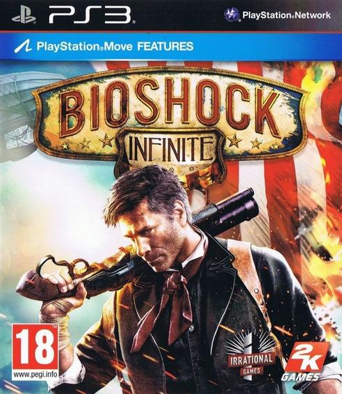 Bioshock Infinite Ps3 Psn Mídia Digital Receba Agora