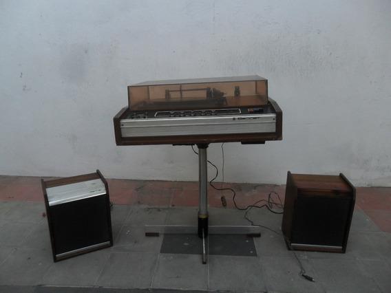 Audio Antiguo Tocadiscos Barret Pop Retro Decoracion Radio