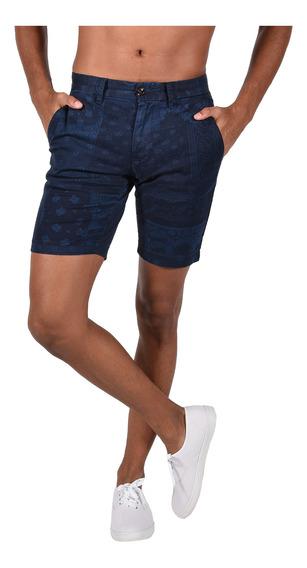 Shorts Stretch Tommy Hilfiger Azul Mw0mw06137-416 Hombre