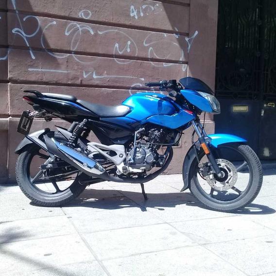 Bajaj Rouser 135 Azul 2016 17000 Kms
